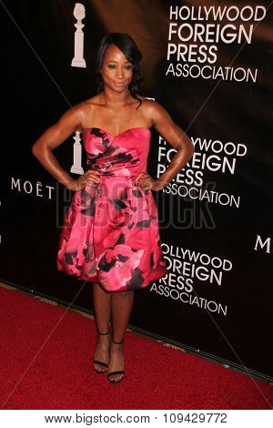 LOS ANGELES - AUG 13:  Monique Coleman at the HFPA Hosts Annual Grants Banquet - Arrivals at the Beverly Wilshire Hotel on August 13, 2015 in Beverly Hills, CA