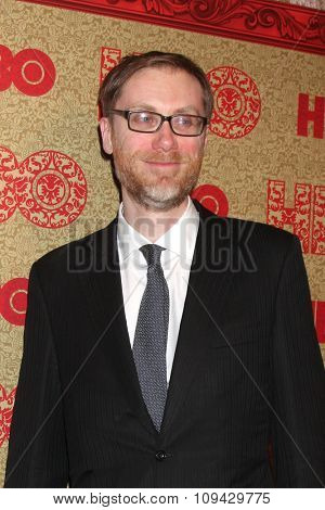 LOS ANGELES - JAN 12:  Stephen Merchant at the HBO 2014 Golden Globe Party at the Beverly Hilton Hotel on January 12, 2014 in Beverly Hills, CA