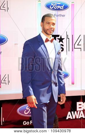 LOS ANGELES - JUN 29:  Aaron D Spears at the 2014 BET Awards - Arrivals at the Nokia Theater at LA Live on June 29, 2014 in Los Angeles, CA
