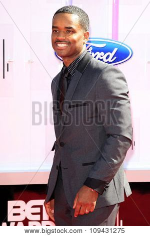 LOS ANGELES - JUN 29:  Larenz Tate at the 2014 BET Awards - Arrivals at the Nokia Theater at LA Live on June 29, 2014 in Los Angeles, CA