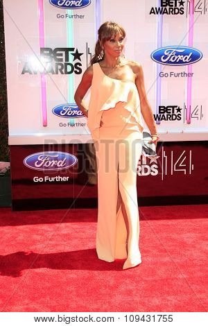 LOS ANGELES - JUN 29:  Holy Robinson Peete at the 2014 BET Awards - Arrivals at the Nokia Theater at LA Live on June 29, 2014 in Los Angeles, CA