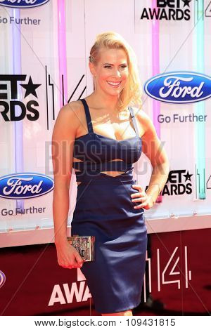 LOS ANGELES - JUN 29:  Brittany Daniel at the 2014 BET Awards - Arrivals at the Nokia Theater at LA Live on June 29, 2014 in Los Angeles, CA