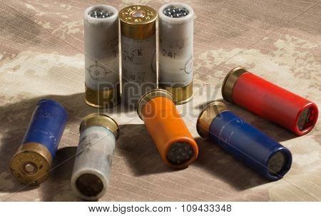 Hunting Cartridges And Lead Shot . Clouse Up