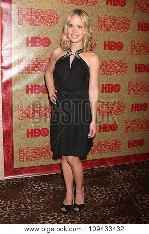 LOS ANGELES - JAN 12:  Ryann Shane at the HBO 2014 Golden Globe Party at the Beverly Hilton Hotel on January 12, 2014 in Beverly Hills, CA