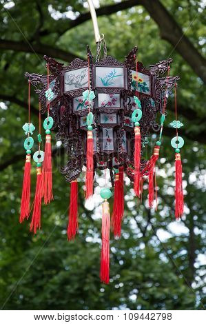 Lantern decorated in the Chinese style