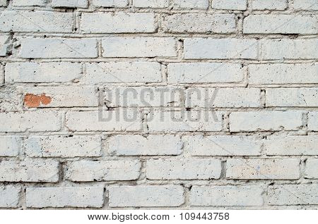 Soft Image Of A Background Of Gray Brick Wall