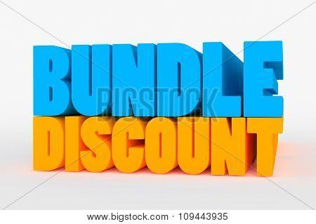 Big 3D Bold Text - Bundle Discount