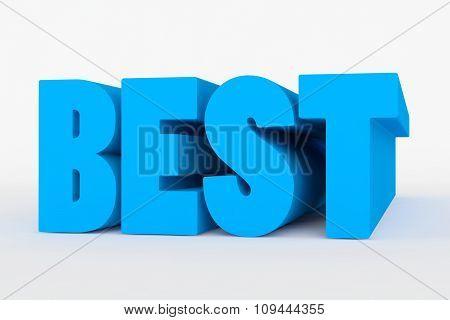 Big 3D Bold Text - Best