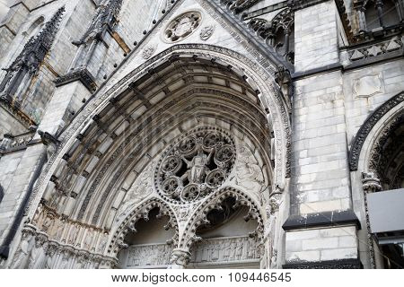 Great west doors vault of Cathedral Church of Saint John: The Great Divine in the City and Diocese of New York