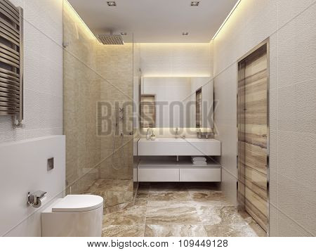 Design Contemporary Style Bathrooms.