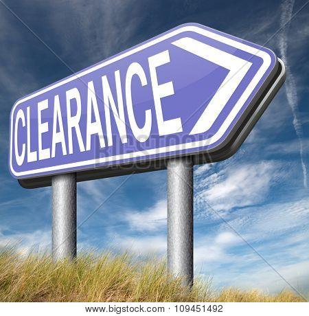 final stock clearance sale winter or summer sales