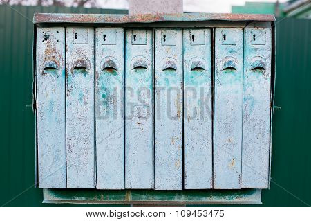 Old Multiple Mailbox
