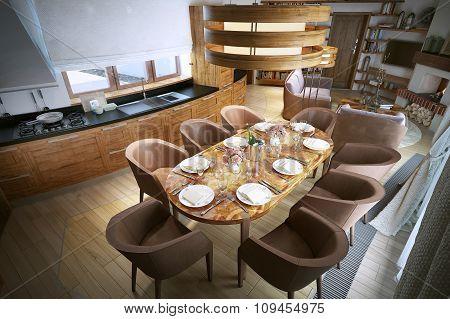Room Studio Modern Style
