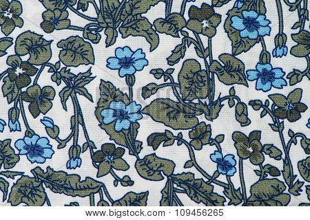 Fabric With Floral Patter