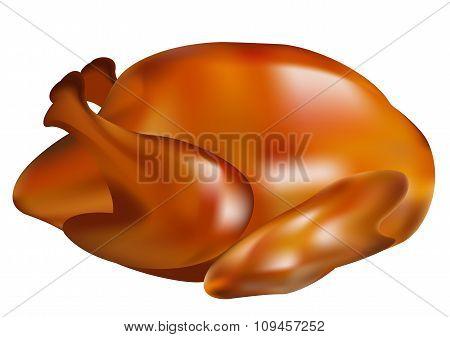 Thanksgiving turkey fried