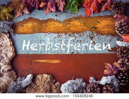 German 'herbstferien