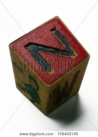 letter cube