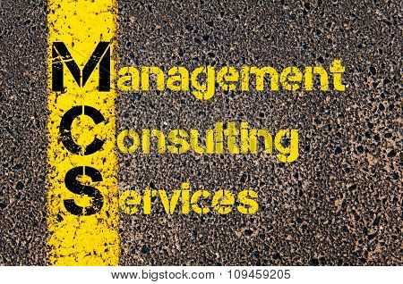 Business Acronym Mcs As Management Consulting Services