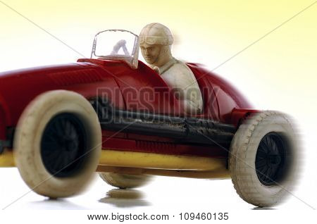 vintage toy race car