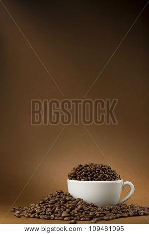 cupful of coffee