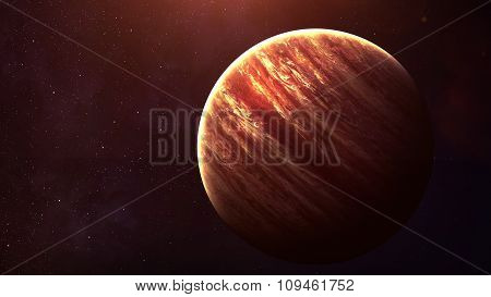 Jupiter - High resolution best quality solar system planet. All the planets available. This image el