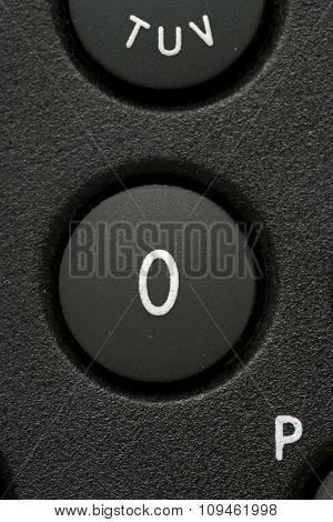 zero telephone button