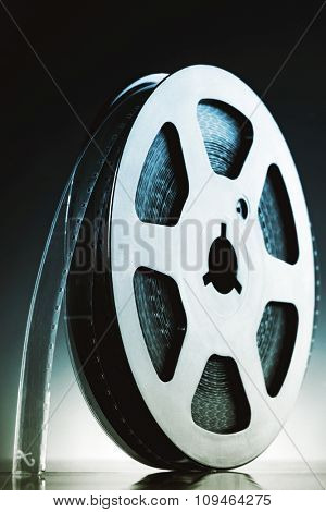 reel of 8mm film