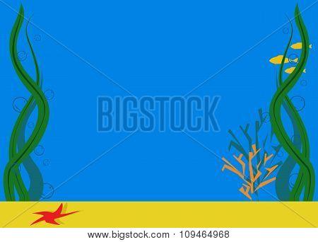 Background Sea Bottom