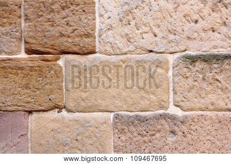 Vintage Australian Sandstone Wall 2