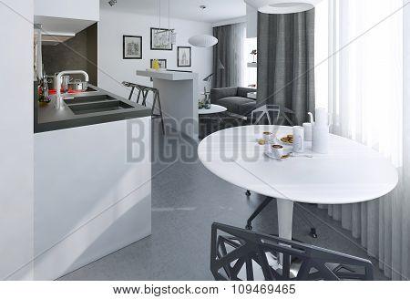 Interior Studio Modern Style
