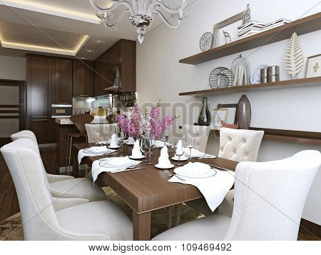 Kitchen And Diner Modern Style