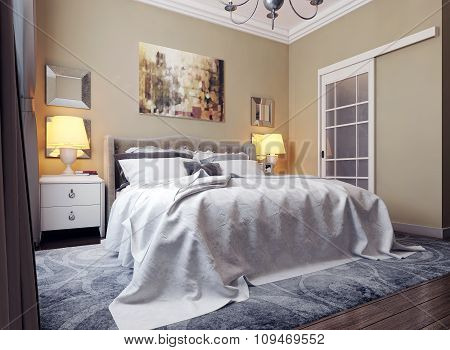 Bedroom In Classic Style
