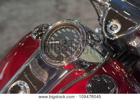 Harley-davidson Freewheeler Detail