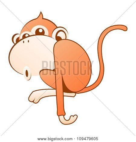 Vector Cool Monkey