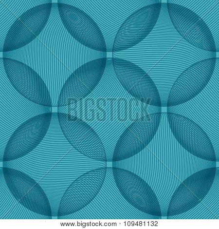 Background Blue Sphere