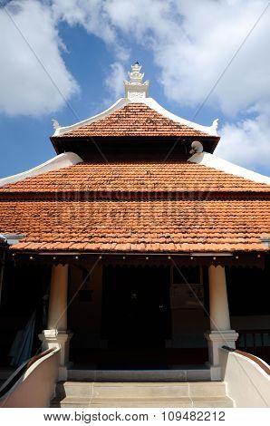 Peringgit Mosque in Malacca, Malaysia