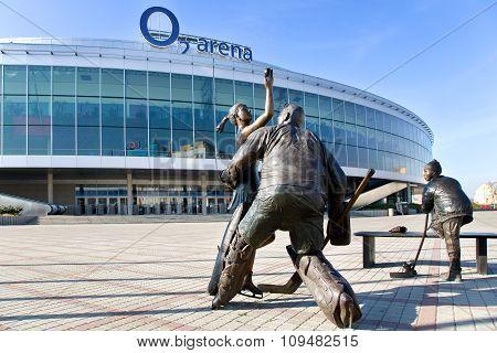 O2 Arena, Vysocany, Prague, Czech Republic