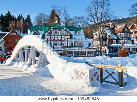 Ski Resort Spindleruv Mlyn, Krkonose (giant) Mountains, Czech Republic