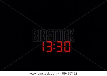 Digital Watch 13:30