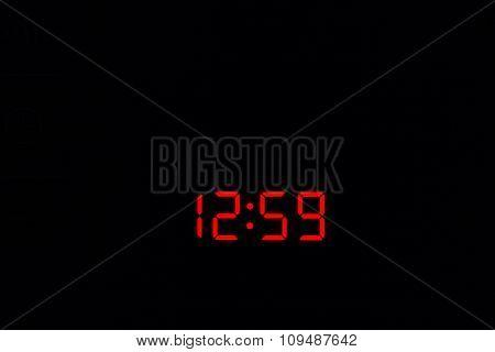 Digital Watch 12:59