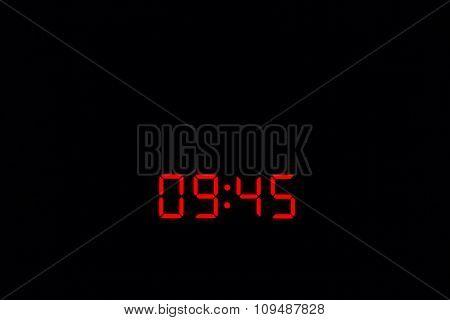 Digital Watch 09:45
