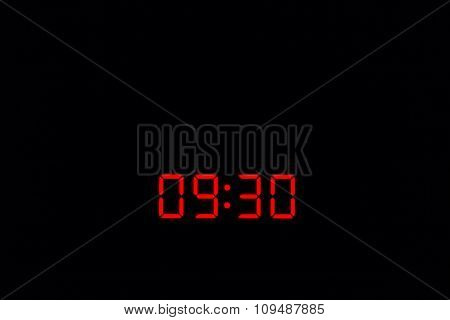 Digital Watch 09:30