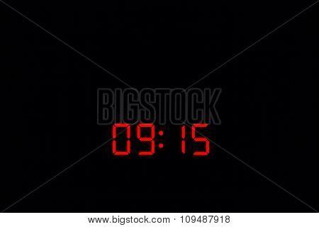 Digital Watch 09:15