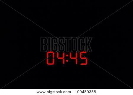 Digital Watch 04:45