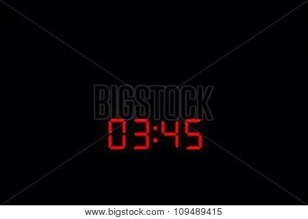 Digital Watch 03:45