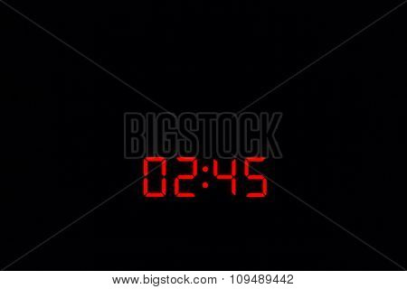 Digital Watch 02:45