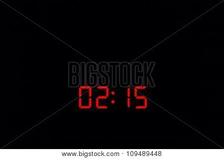 Digital Watch 02:15