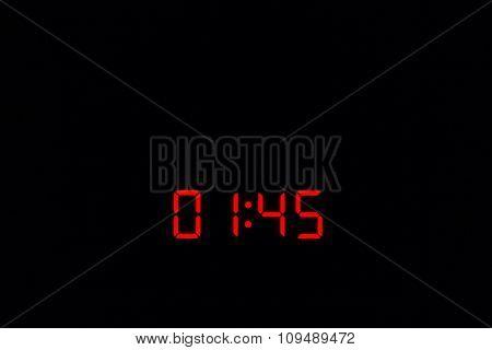 Digital Watch 01:45