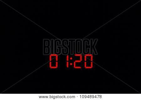 Digital Watch 01:20
