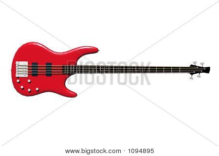 Isolated Electric Bass